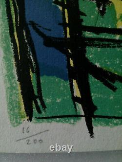 Jean Le Moal (1909-2007) Ramureslithographie 1956, Signed And No. 16/200 Gallery