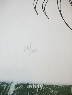 Jean Marais Lithograph Signed Numbered 66x50