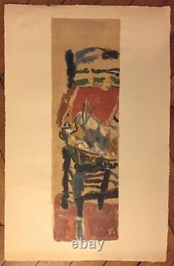 Jean Pougny Lithography Signed Abstract Art Russian Abstraction