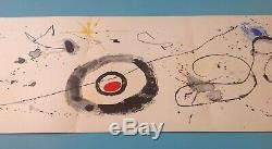 Joan Miro Great Authentic Lithograph 1963 Maeght Art 55 Years Warranty