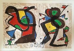 Joan Miro Original Engraving On Vellum Abstract Abstraction Art Miro Writer