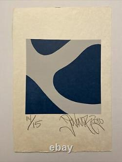 Jonone, Signed Hand, Litho 14/15, 37x56cm, Print In Good Condition On Rice Paper