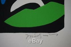 Jose Guimaraes From Original Silkscreen Embossed Signed And Numbered