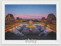 Jr At The Louvre 29 March 19:45 / Signed And Numbered Lithograph Print Edition /250