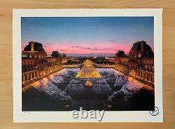 Jr At The Louvre March 29 7:45 P.m. / Signed And Numbered Lithograph Print Edition /250