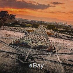 Jr Louvre Pyramid, Lithograph / 180 Kaws Banksy Invader