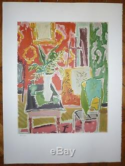 Jules Cavailles Numbered Lithograph Toulouse Lautrec Museum Albi 1982