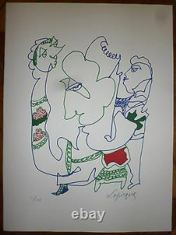 Lapicque Charles Lithography Signed Numbered Abstract Art Abstraction