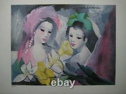 Laurencin Marie Lithography Signed Numbered At Crayon Hc/50 Signed Lithograph