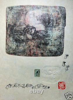 Lebadang Dang Original Lithography Signee Du Tampon And Superb Print