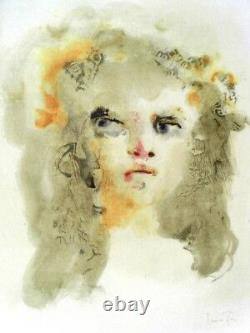 Leonor Finished 2 Great Lithos Old Colors -signed- Anger Sweetness