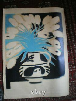 Lithograph André Brasilier Dated 18 February 1978 And Signed