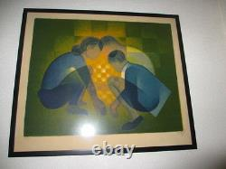 Lithograph By Louis Tofoli Le Jeu, Signed, Numbered 111/125
