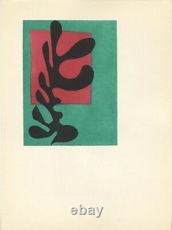Lithography Berggruen Gallery By Mourlot After H. Matisse. 1953. White Algae