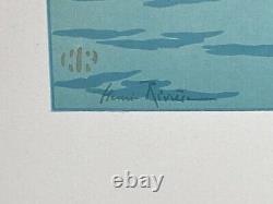Lithography Henri Riviere Le Soleil Couchant La Feerie Des Heures 1901 M227