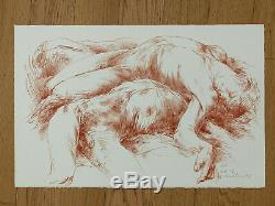 Luis Caballero / Hand Signed And Numbered Lithograph