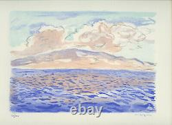 Marquet Albert Rare Lithography 1947 Signed Main Num/100 Handsigned Lithograph