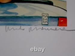 Milo Manara (art Print)' The Cabriolet Signed In Pencil