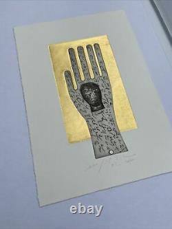 Mimmo Paladino, Litho Signed Hand 56/100, 35x50cm, Contemporary Art, Good State