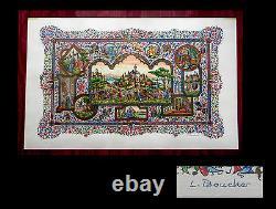 Miniatures Gradassi Boucher (lucy) Original Lithograph Signed