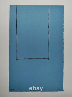 Motherwell Robert Lithography Original Expressionism Abstract Signed Justified
