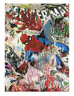 Mr Brainwash Spiderman Ltd Ed Of 55 S / N