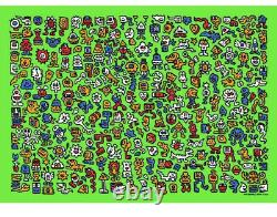 Mr Doodle Alien Town New Print Limited Edition Colour 2020