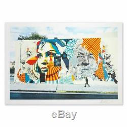 Obey Vhils 2019 Litho Signed Num Whatson Invader Kaws Jonone Seen