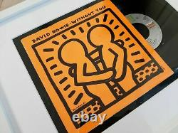 Original Keith Haring Without You Limited Bowie Edition Not Banksy Shepard Obey