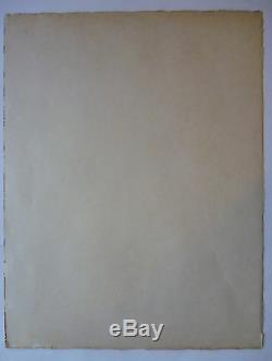 Original Lithograph 1955 Kostya Said Constantine Terechkovitch