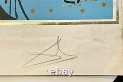 Original Lithograph Dali The Apostles Saint Peter, Signed, Ea, 1972