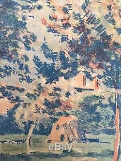 Original Lithograph Garden Eragny Camille Pissarro 1858-1941 Maximilien Luce