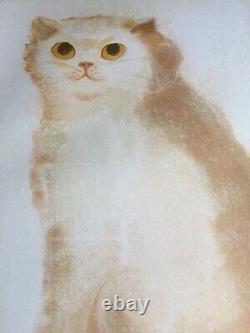 Original Lithography Portrait Cat Animals Leonor Fini (1907-1996) Argentina