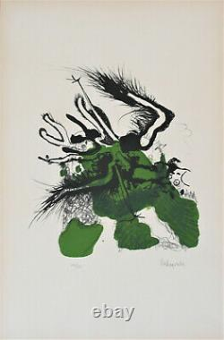 Paul Rebeyrolle-lithography Pv340