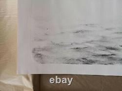 Pejac Scattercrow Lithograph Signed And Numbered Out Of 80 Stored Flat