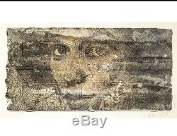 Peroxide By Vhils Signed And Numbered Lithograph Hand Finished