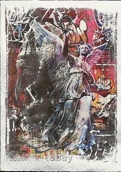 Pichiavo And Vhils Triumph (obey, Banksy, C215, Invader, Artsper) Lithography