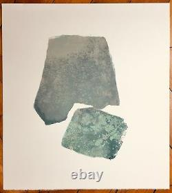 Pierre Tal-coat Original Lithograph Art Abstract Lyrical Abstraction Valves