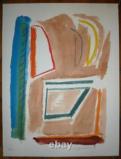 Ràfols-casamada Albert Lithography Signed Abstract Art Abstraction Spain Art