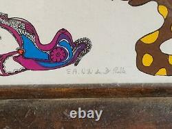 Rare Artist's Lithography Niki De Saint Phalle
