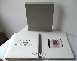 Rare, Ex. Numbered, Ballad For Marc Chagall, Original Lithos Signed, Verdet