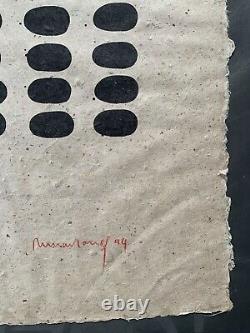 Richard Long, Litho Signed Hand 16/40, 82x53cm, Gd Format