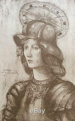 Saint Georges Jeanne Jacquemin 1898 Lithography Printmaking Modern