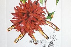 Salvador Dali Floradali Color Litography Signee In Crayon