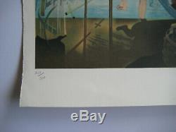 Salvador Dali Lithograph Signed Pencil Num / 300 Handsigned Numb Lithograph