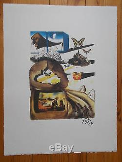 Salvador Dali Suite Butterfly Complete Series 6 Lithograpies S. N. F C.