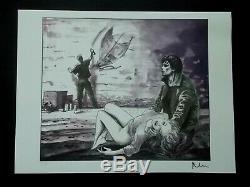 Serigraphie Milo Manara, Proof Of Artist Signed In Pencil