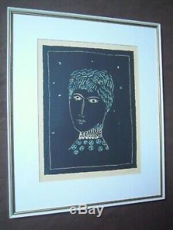 Slovenia Zoran Music Art Lithography 1950 Ida Ltd. 1/200 Rare Signed By Artist