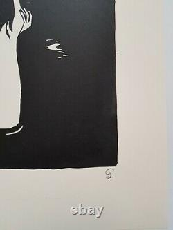 Small Luxures Linogravure Signed - Numeroted