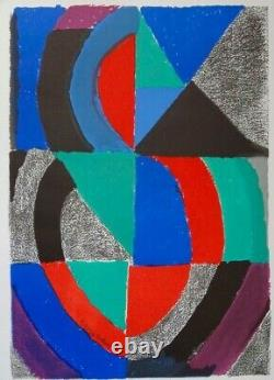 Sonia Delaunay Annee International Of The Woman 1975 - Lithograph Poster